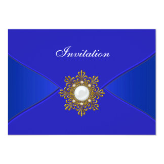 Royal Blue All Occasion Party Card