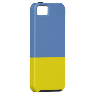 Royal Blue and Gold Vibe iPhone 5 Case