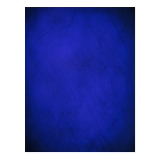 Royal Blue & Black Background Post Card