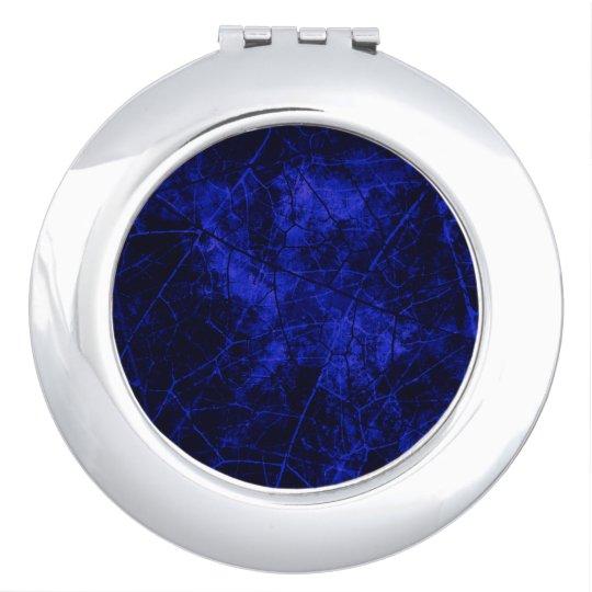 Royal Blue Black Crackle Lacquer Grunge Texture Travel
