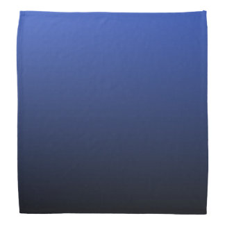 Royal Blue Black Ombre Bandana