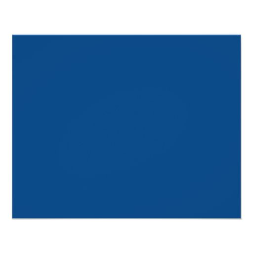 Royal Blue Color Only Custom Design Products Full Color Flyer