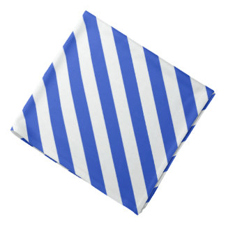 Royal Blue Combination Stripes Do-rag