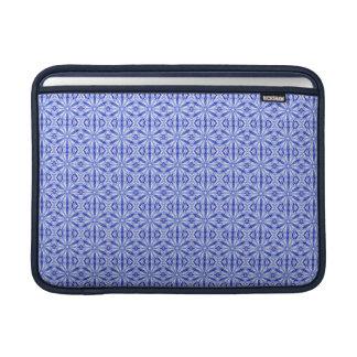 Royal Blue Fractal Pattern 13 Inch MacBook Sleeve