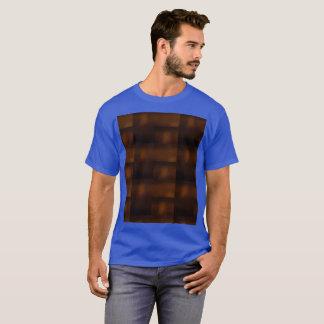 Royal Blue Future Meets Nature Meets Ancient World T-Shirt