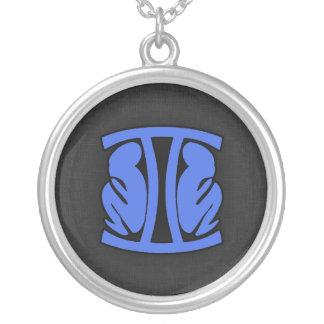 Royal Blue Gemini Pendant