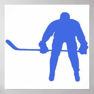 Royal Blue Hockey Posters