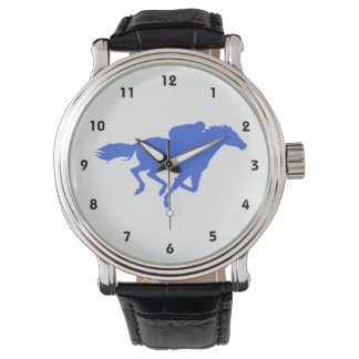 Royal Blue Horse Racing Watch