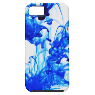 Royal Blue Ink Drop Macro Photography iPhone 5 Case
