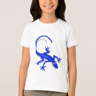 royal blue lizard kids shirt