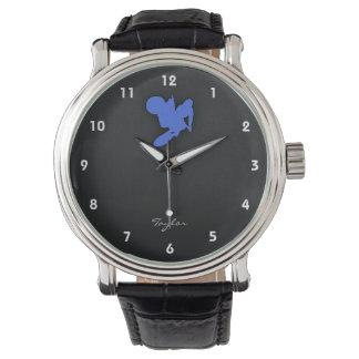 Royal Blue Motocross Wristwatch