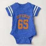 Royal Blue & Orange Baby | Sports Jersey Design Tshirt