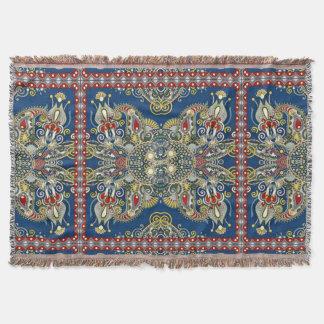 Royal Blue Oriental Design