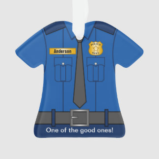 Royal Blue Police Officer Uniform