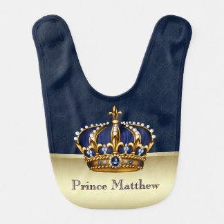 Royal Blue Prince Bib