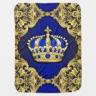 Royal Blue Prince Baby Blanket