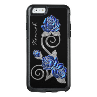 Royal Blue Roses 2 Otterbox iPhone 6S Case