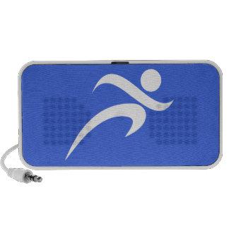 Royal Blue Running Mini Speaker