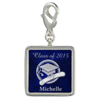 Royal Blue Silver Graduation