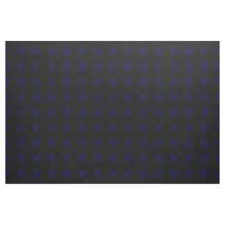 Royal Blue Starburst Abstract Pattern Fabric