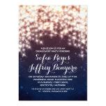 royal blue string lights engagement party invites 13 cm x 18 cm invitation card