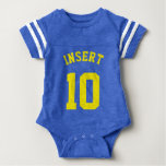 Royal Blue & Yellow Baby | Sports Jersey Design Shirts
