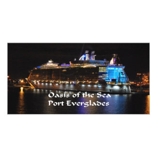 Royal Caribbean Oasis of the Seas Personalised Photo Card