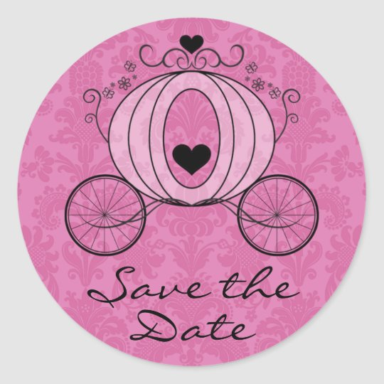 Royal Carriage Save the Date Seal