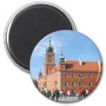 Royal Castle in Warsaw Refrigerator Magnet