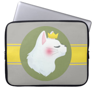Royal Cat Laptop Sleeve