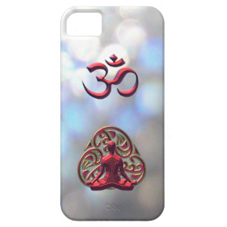 Royal Celtic Meditation OM-Symbol for iPhone 5 Barely There iPhone 5 Case