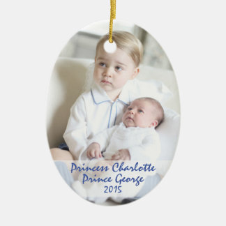 Royal Children - George & Charlotte Christmas Ornament