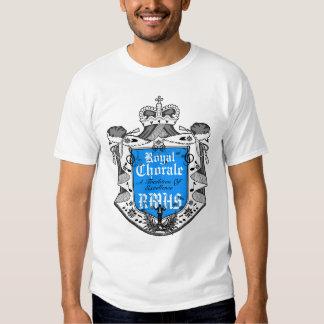 Royal Chorale Crest 4B Black T-Shirt