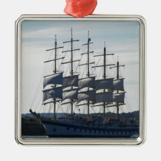 Royal Clipper Under Sail Christmas Ornament
