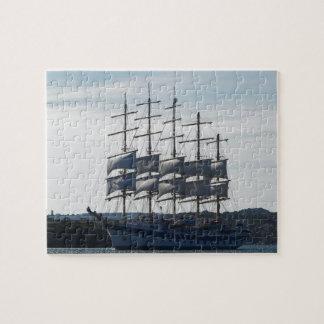 Royal Clipper Under Sail Jigsaw Puzzle