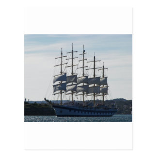Royal Clipper Under Sail Postcard