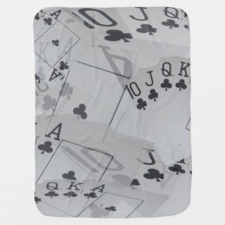 Royal Club Flush Pattern, Baby Blanket