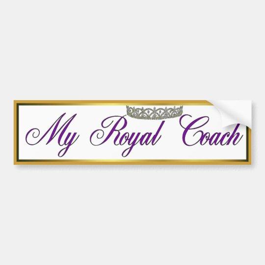 Royal Coach Bumper Sticker