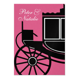 Royal Coach/ Engagement Party Personalized Invites
