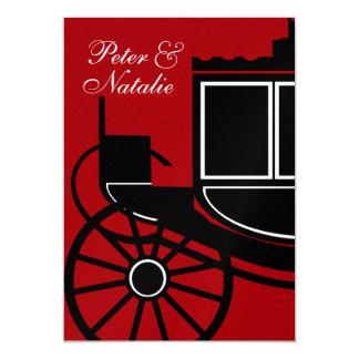Royal Coach/ Engagement Party 13 Cm X 18 Cm Invitation Card