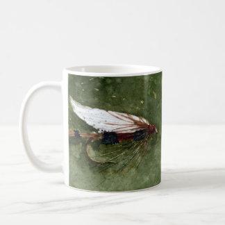 Royal Coachman Fishing Fly Basic White Mug