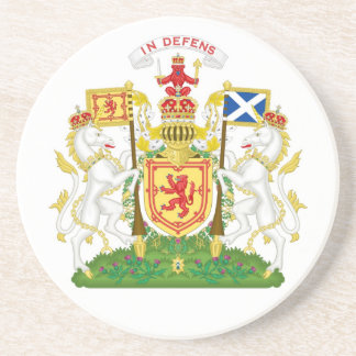Royal Coat of Arms of the Kingdom of Scotland Coaster