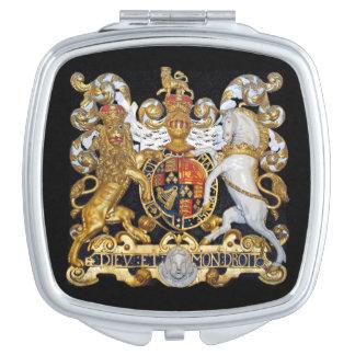 Royal Coat of Arms. (UK) Mirror For Makeup
