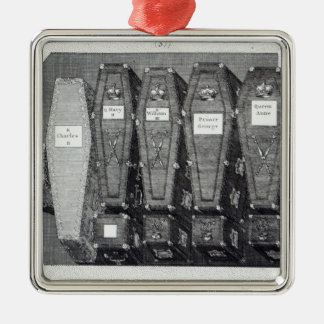 Royal Coffins at Westminster Abbey Christmas Ornament