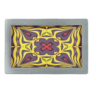 Royal Colorful Belt Buckle