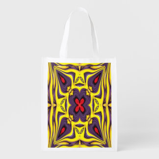 Royal Colorful Reusable Bags Market Totes