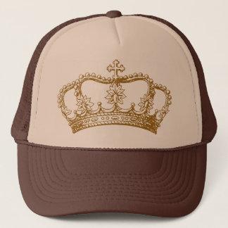 Royal Coordinates Crown Alone Trucker Hat