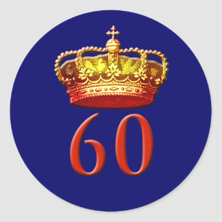 Royal Coronet and 60 for the Diamond Jubilee Sticker