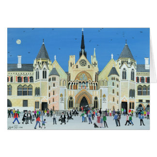 Royal Courts of Justice London 1994 Card