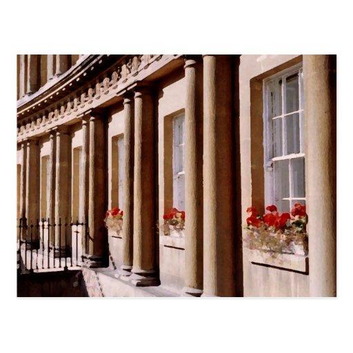 Royal Crescent, Bath Postcard